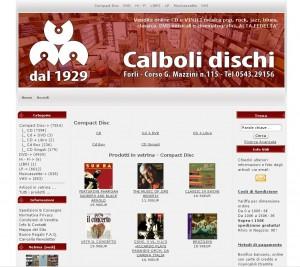 Calboli Dischi: Vendita online CD e VINILI, DVD ed Alta Fedeltà