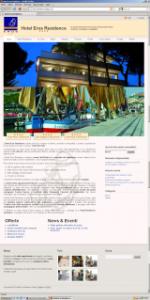Pubblicato il nuovo sito dell'Hotel Eros Residence!