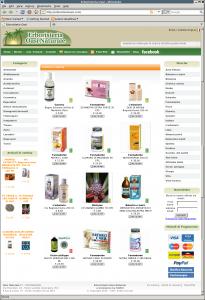 Erboristeria Oasi Naturale: E-Commerce di prodotti naturali per la salute