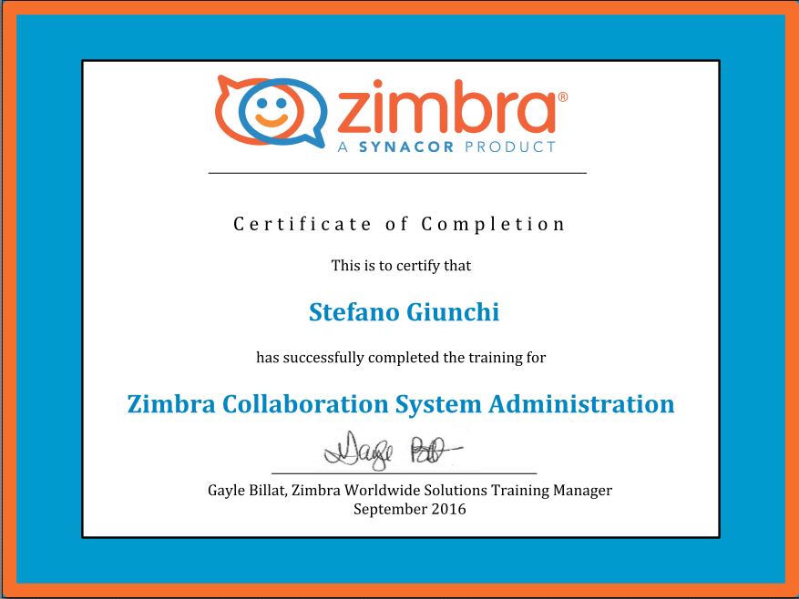 Zimbra Collaboration System Administration